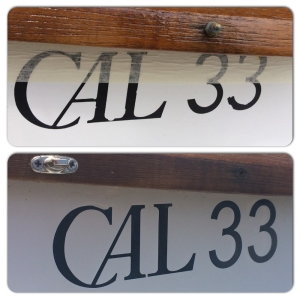 Cal 33 Decal_Before and After
