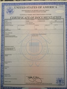 Cert of Documentation