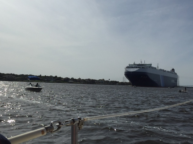 Little boats. Big boats. There's room for both on the St. Johns River in Jacksonville